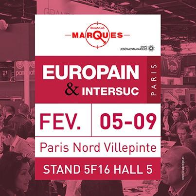 Balanças Marques na Europain para reforçar posição no mercado francês