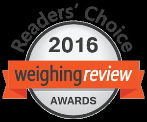 """Balanças Marques novamente nomeada nos prémios """"Weighing Review Awards"""""""