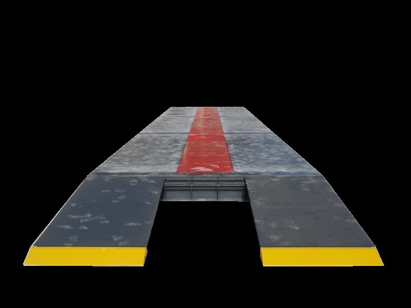 Chassis de instalação sobre o solo para básculas PCM SG