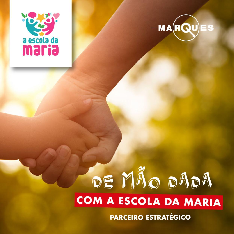 Balanças Marques é parceiro estratégico dA Escola da Maria