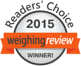 WEIGHING REVIEW AWARDS 2015