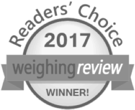 WEIGHING REVIEW AWARDS 2017